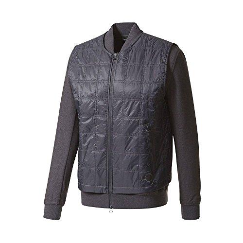 of boys bowling jackets adidas x Wings + Horns Men Bomber Jacket (Black/Utility Black)