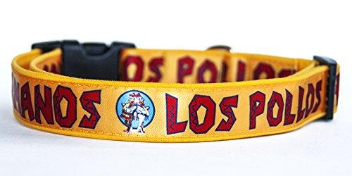 Breaking Bad Los Pollos Hermanos Correa Perro 180 cm Hecha a Mano Handmade Dog Leash