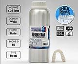 RESINE SLA MONOCURE 3D Rapid MODELE Dentaire White (Blanc) 1,25L 405nm