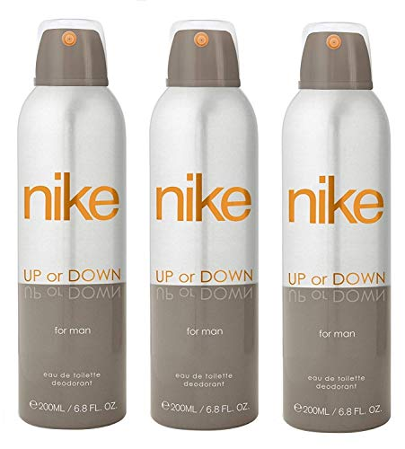 Nike Up or Down Deodorant For Man- Pack Of 3 (200ml Each)