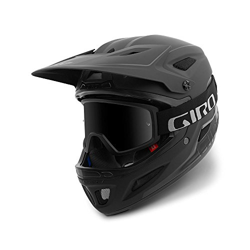 Giro Disciple MIPS Adult Dirt Cycling Helmet - Medium (55-59 cm), Matte Black/Gloss Black (2021)