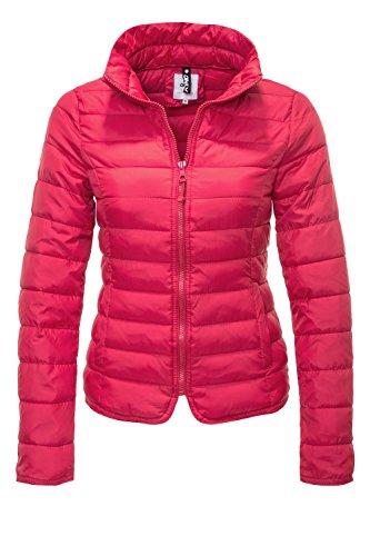 ONLY Damen Steppjacke Übergangsjacke Leichte Jacke Blouson (36 (Herstellergröße: S), Virtual Pink)