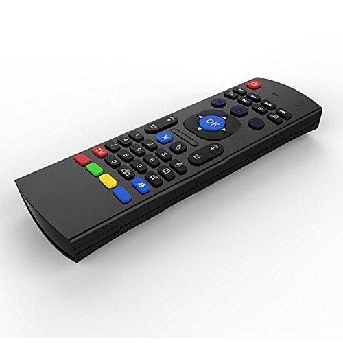 Teclado retroiluminado del ratón del aire Kodi Remote MX3 Pro, 2.4Ghz Mini Wireless Android Control de TV y micrófono infrarrojo de aprendizaje para PC PC Android TV Box por Dupad Story