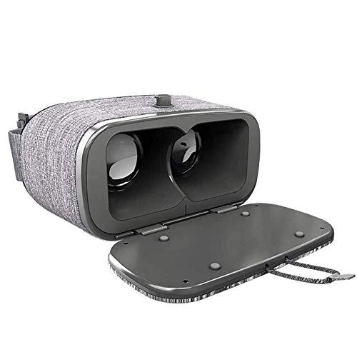 Adesign VR-Headset kompatibel mit iOS & Android Phone - Universal Virtual Reality Goggles - Spielen Sie Ihre besten Mobilfunkspiele 360 Filme mit weichem & komfortablen neuen 3D-VR-Brillen