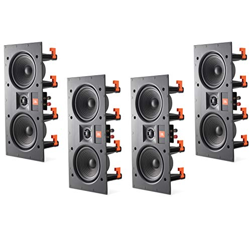 "Discover Bargain JBL LAE5I Dual 5-1/4"" 2-Way in-Wall LCR Speakers Frameless with White Magnetic Gr..."