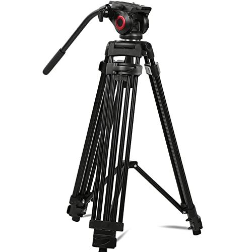Denash Fotografia treppiede, treppiede Professionale Miliboo MTT601A con Testa a Sfera idraulica per videocamera DSLR Sony