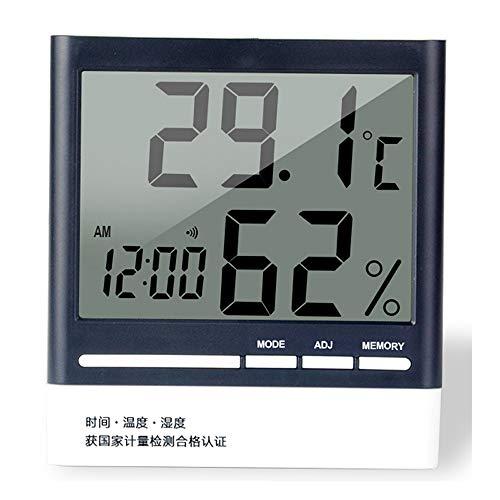 ZQ Elektronisches Thermometer Und Hygrometer Ausgangshallenbabyraum Hoher Präzision Nasser Und Trockener Thermometer Landwirtschaftliches Gewächshausthermometer