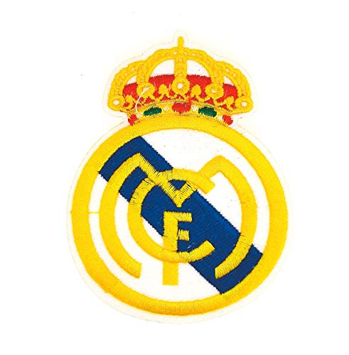 Parche Bordado Escudo Real Madrid Termoadhesivo 8cm