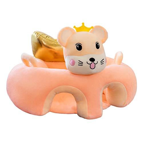 Babysitting Stuhl, Bequemer Säugling Soft Animal Shaped Stuhl Tragbarer Esszimmerstuhl Unterstützung Für Baby Kleinkinder