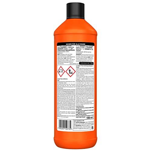 Mr Muscle Flüssiger Rohr-Reiniger, Für alle Rohrarten gegen starke Rohr-Verstopfungen, 1000 ml, Mr Muscle Drano Max Power-Gel Rohrfrei - 2