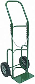 "Sumner 782385 112-10S Heavy Duty Single Cylinder Cart, 10"" Wheel, 500 lb. Capacity"
