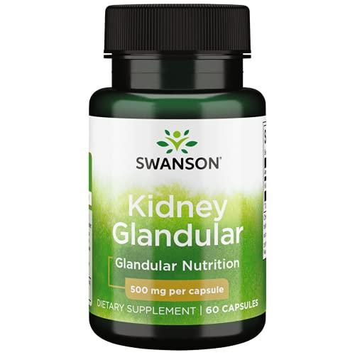 Swanson Raw Kidney Glandular 500 Milligrams 60...