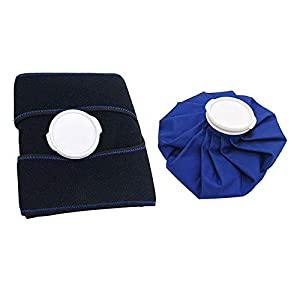F Fityle Ice Cold Pack Reusable Ice Bags with Support Wrap for Injuries,Safe Waterproof,Instant Relief from F Fityle
