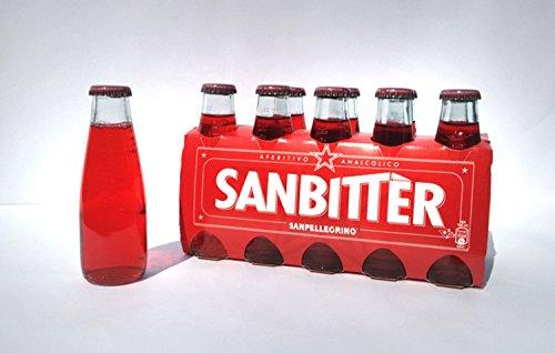 Sanbittèr 10 x 100 ml. - Sanpellegrino Aperitif Sanbitter