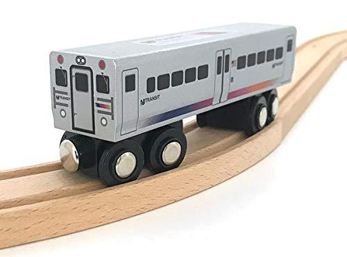 NJT Munipals MP04-1102 Comet V Commuter New Jersey Transit Wooden Railway Compatible