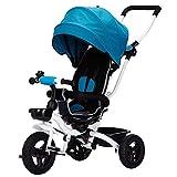Triciclos Triciclo plegable 4 en 1 para niños 360 & deg; Silla...