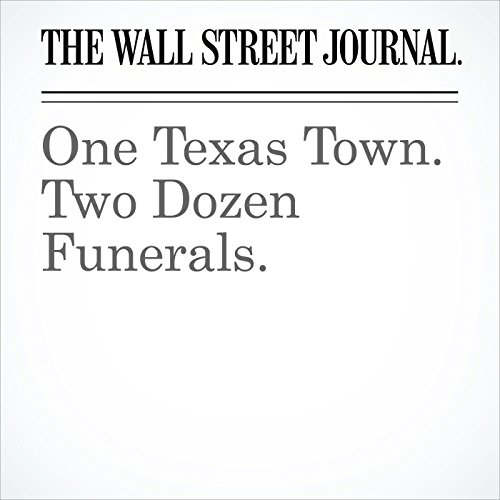 One Texas Town. Two Dozen Funerals. copertina