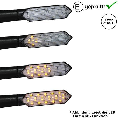 LED knipperlichten compatibel met Flex Tech Luna, Napoli, Piacenza, Riva, Speedmax (E-getest/2 stuks) (B19)