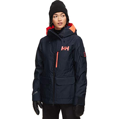 Helly-Hansen Women's Powderqueen 2.0 Jacket, 597 Navy, Medium