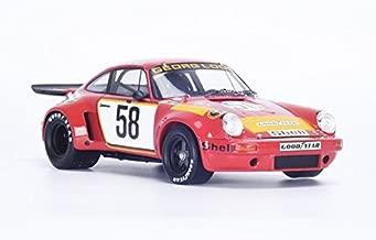 Porsche 911 RSR #58 1975 Lemans 5th John Fitzpatrick, Gijs van Lennep, Manfred Schurti, Toine Hezemans, Georg Loos 1/18 by Spark 18S165