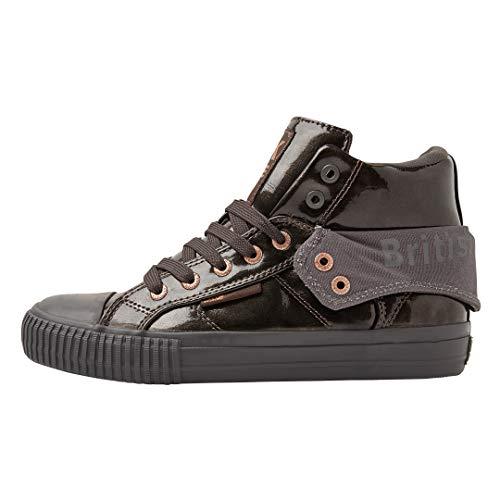 British Knights Damen ROCO Hohe Sneaker, Grau (Dk Grey/Dk Grey 03), 40 EU
