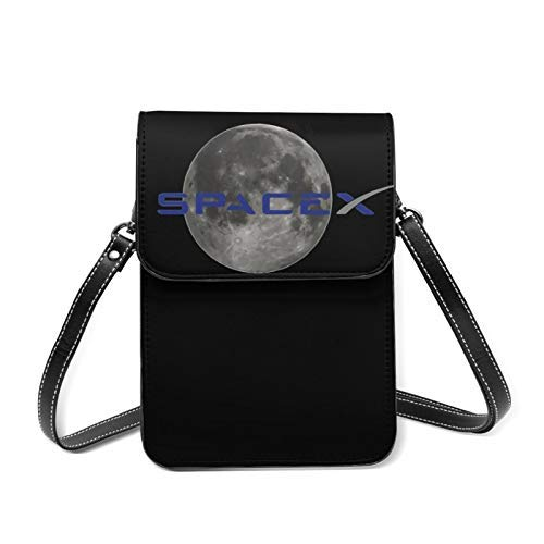 XCNGG SpaceXsmart phone Wallet Bags,Cellphone Pouch Bag with Shoulder Strap and Magnetic Button