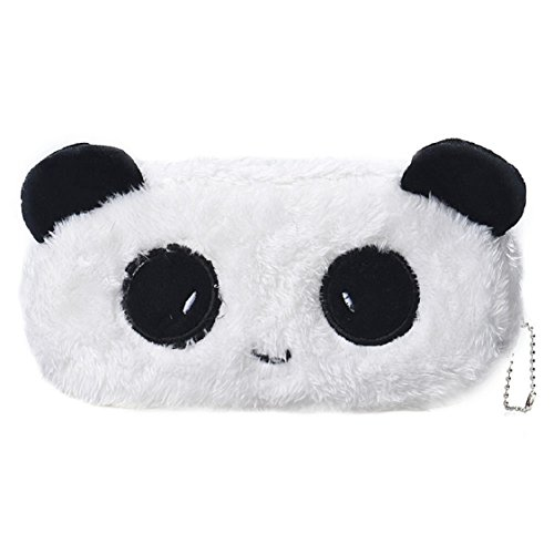 Office Stationery,Ikevan Cartoon Pencil Case Plush Large Pen Bag For Kids (A)