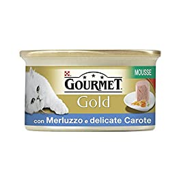 Purina Gourmet Gold Mousse Cod/Carrots Gr. 85