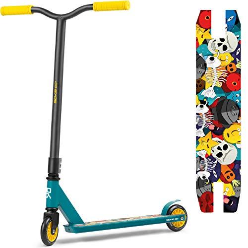 Stunt Scooter GO! Kickscooter mit ABEC 9 Kugellager Tretroller Roller Erwachsene und Kinder SOKE