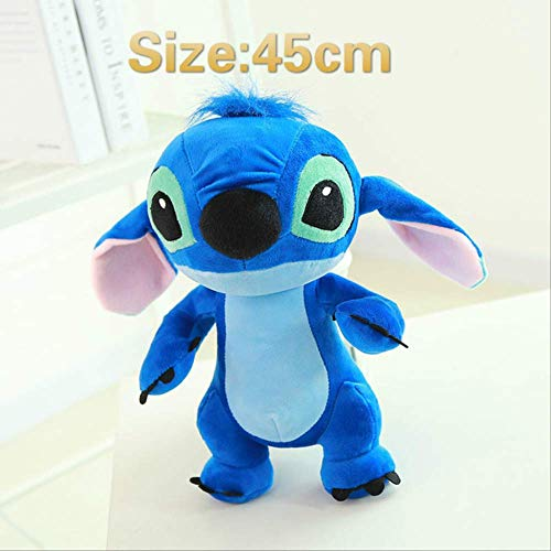 Soft Toys - Bule Interstellar Doll Cute Lovely Stuffed Stich Baby Toy Kids Toys Regalo Para Niños 45cm