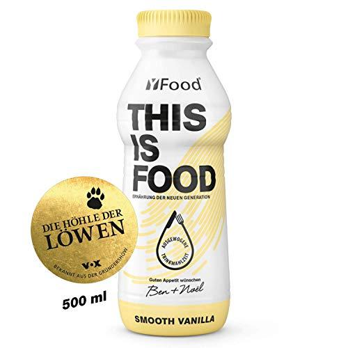 YFood Vanille   Laktose- und glutenfreier Nahrungsersatz   34g Protein, 26 Vitamine...