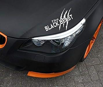 The Black Beast Aufkleber Sticker Beastmode 15 Blau Glanz Black Beast Auto
