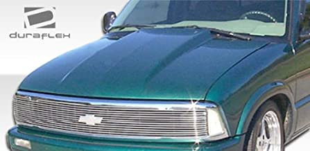 Brightt Duraflex ED-FTG-708 Cowl Hood - 1 Piece Body Kit - Compatible With S-10 1994-2004