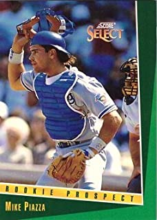 1993 Score Select #347 Mike Piazza Baseball Card - Rookie Prospect