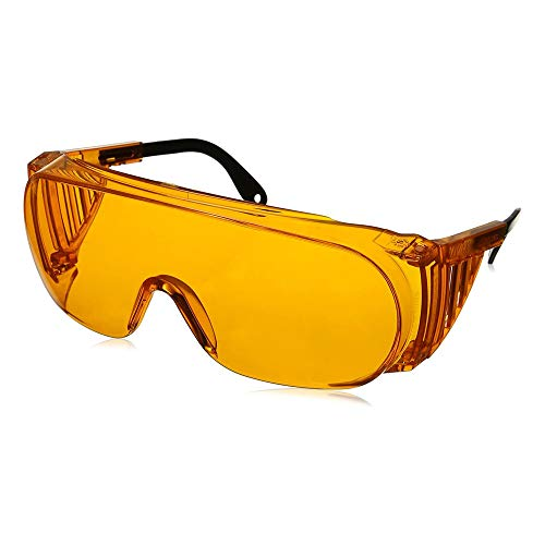 Uvex Ultra-Spec 2000 Blue Light Blocking Computer Glasses with SCT-Orange Lens (S0360X)