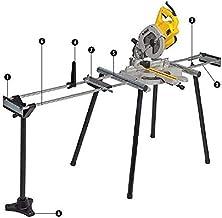 Dewalt DE3495-XJ DE3495-XJ-Base de Apoyo para Material-guía ingletadoras, 0 W, 0 V