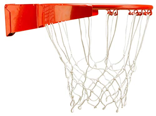 New Port slam Rim pro Basketballring Mit Feder, Orange, One Size