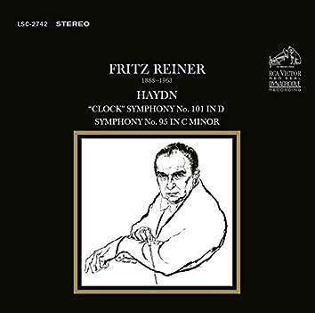 "Haydn: Symphony No. 101 in D ""The Clock""; Symphony No. 95 in C Minor"