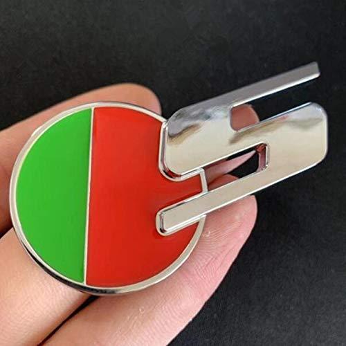 QWERD R - Emblema de barra R-Sport para Jaguar XE XF F-PACE XJL Fender Sport Trunk de alto rendimiento