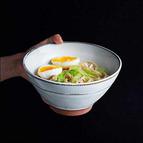 MJK Platos y platos caseros de la novedad, cuenco de cerámica creativo, sopa de arroz, filete, ensalada de frutas, cocina de desayuno, caja fuerte anti, plancha, microondas, lavavajillas, se puede ap