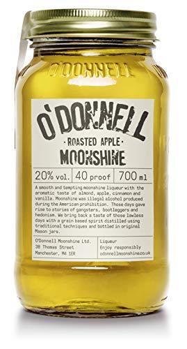 "O'Donnell Moonshine ""Bratapfel"" Likör (700 ml) I Natürliche Zutaten I Vegan I 20% Vol. Alkohol"