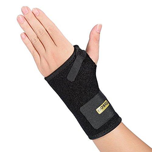 Yosoo Handgelenkschiene, Handgelenkbandage, Handgelenkstütz,ideal für Sport,nur für link Hand