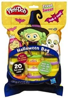 Play-Doh Halloween Bag - 20 Fun-Sized Cans