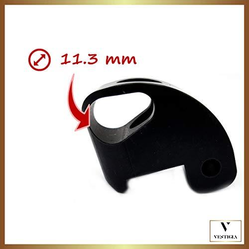 Vestigia® Steering Wheel Lock Versterkte voor Xiaomi M365, M365 Pro Vervangende Scharnier Reparatie Latch Locking Sloten Uw Elektrische Scooter, Accessoires voor Mijia met rubber demper