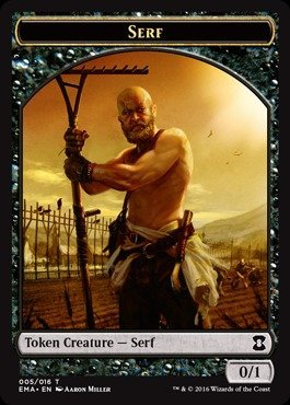 Magic The Gathering - Serf (005/016) - Eternal Masters