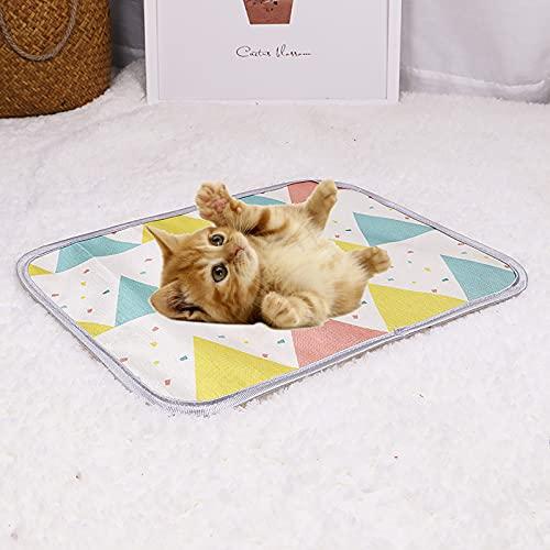 WBias & Belief Tappetino di raffreddamento per animali domestici in seta di ghiaccio tappetino di raffreddamento estivo materasso per sedili auto, XL
