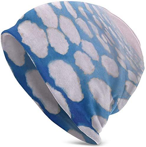 Preisvergleich Produktbild Voxpkrs Sea Or Sky Soft Slouchy Beanie Hats Daily Long Baggy Skull Cap - Men & Women Cool 36581