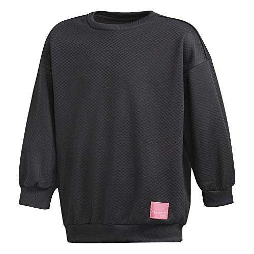 adidas Girls Originals EQT Crew Sweatshirt (M)