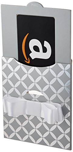 Amazon.com Gift Card in a Silver Reveal (Classic Black Card Design)