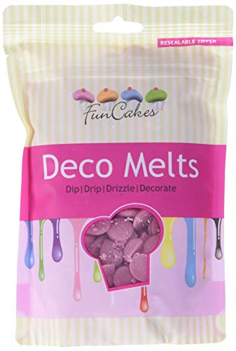 FunCakes Deco Melts -Rosa- 2x250g
